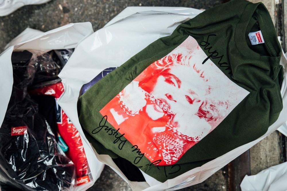 Supreme,发售  异常火爆的发售现场!Supreme 秋冬开季周纽约门店发售回顾