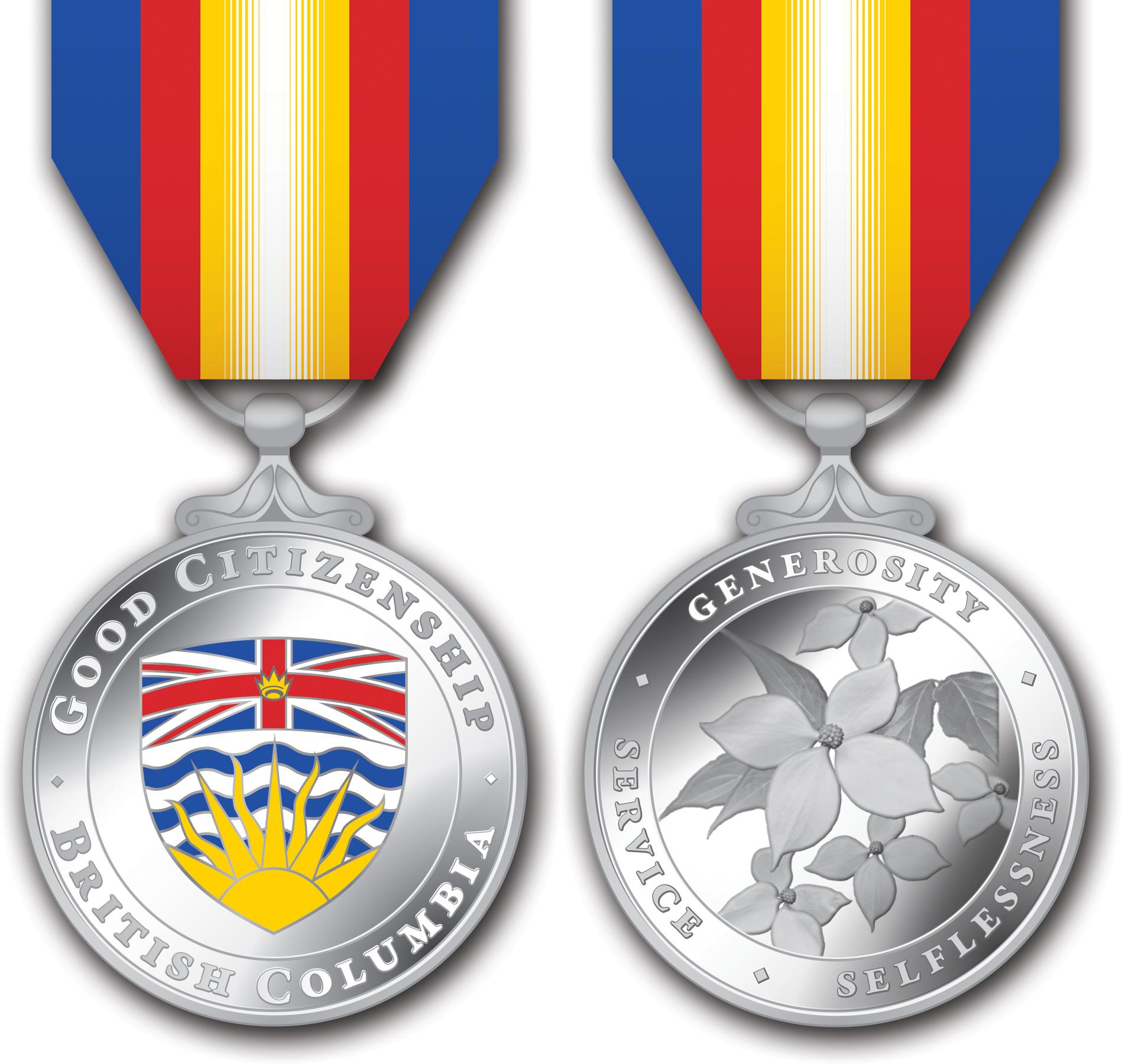 The Medal Of Good Citizenship Design