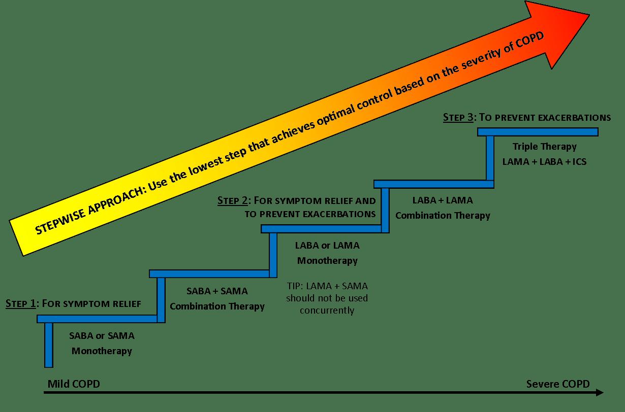 Copd Treatment Ladder Stlfamilylife