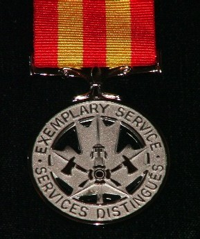 Fire Services Exemplary Service Medal Federal  Province