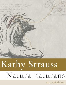 Kathy Strauss exhibit poster