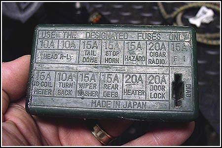 suzuki carry fuse box diagram wiring diagrams