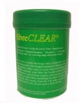 FibreCLEAR - soluble fibre for general health and dieting. Lipotrim and ketosis friendly