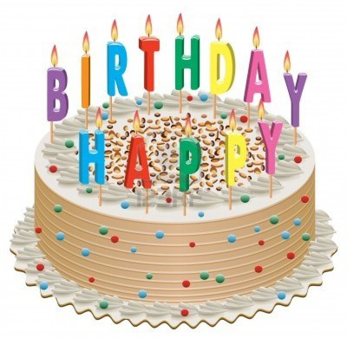 Birthday Cake Pictures Clip Art