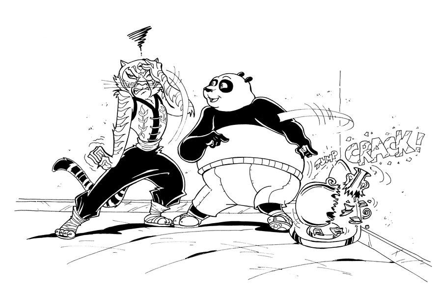 Coloriages à imprimer : Kung Fu Panda, numéro : 561401