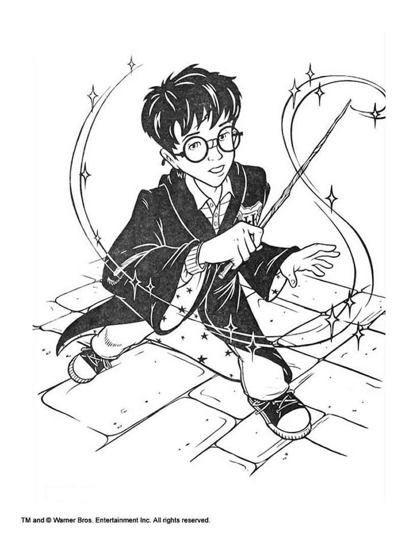 Coloriages à imprimer : Harry Potter, numéro : 434039