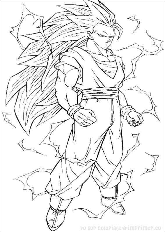 Coloriages à imprimer : Dragon Ball, numéro : 17485