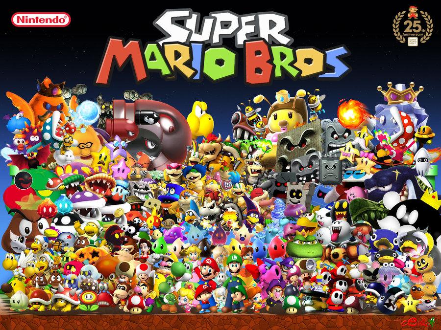 Dessins En Couleurs Imprimer Super Mario Numro 252618