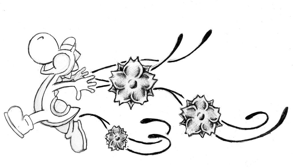 Coloriages à imprimer : Yoshi, numéro : 1897