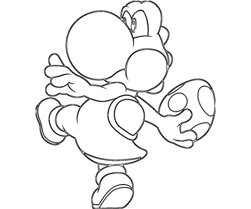 Coloriages à imprimer : Yoshi, numéro : 760013