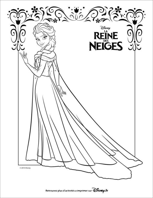 Coloriages à imprimer : La Reine des neiges, numéro : 26fff026da