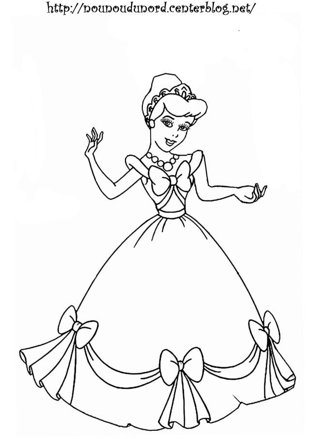Coloriages à imprimer : Princesse, numéro : 14b14