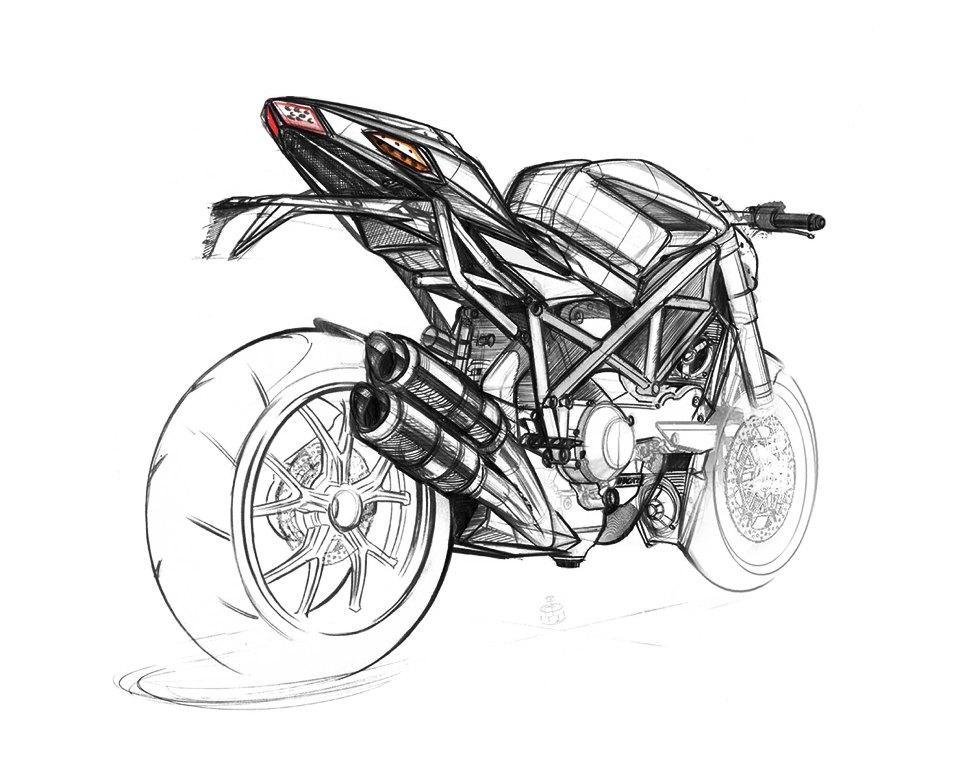 Coloriages à imprimer : Ducati, numéro : 237653
