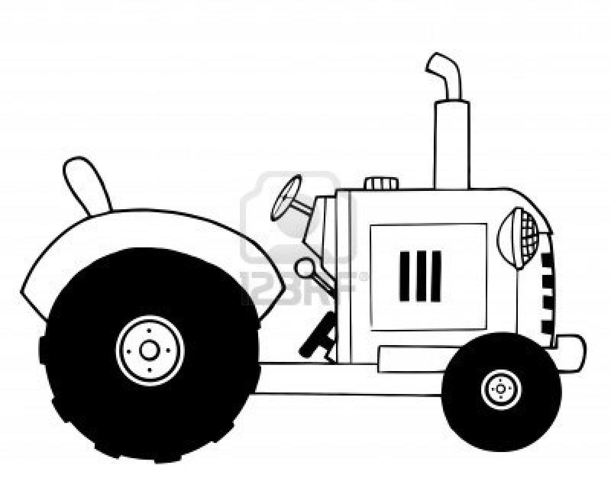 Coloriages à imprimer : Tracteur, numéro : 61870