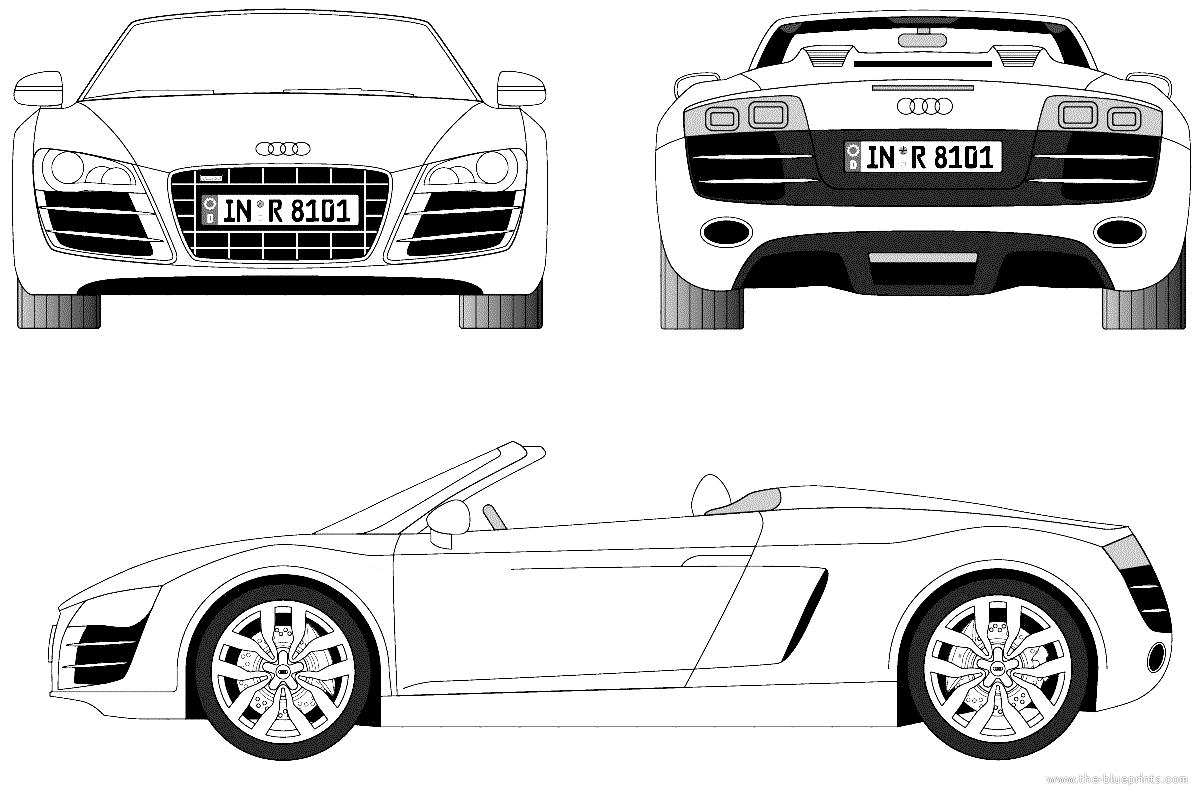 Coloriages A Imprimer Audi Numero