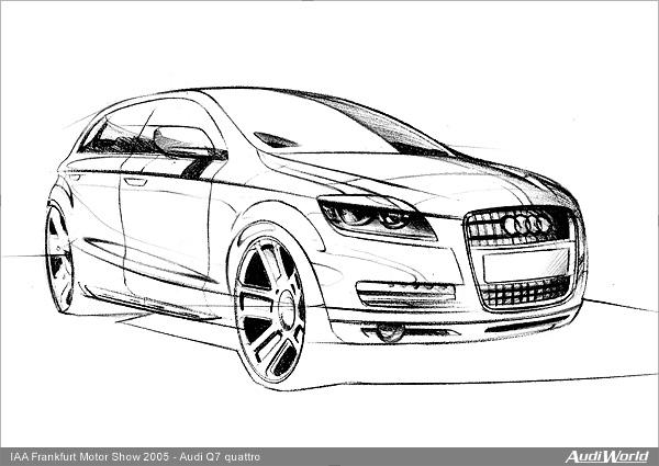 Coloriages à imprimer : Audi, numéro : 292586