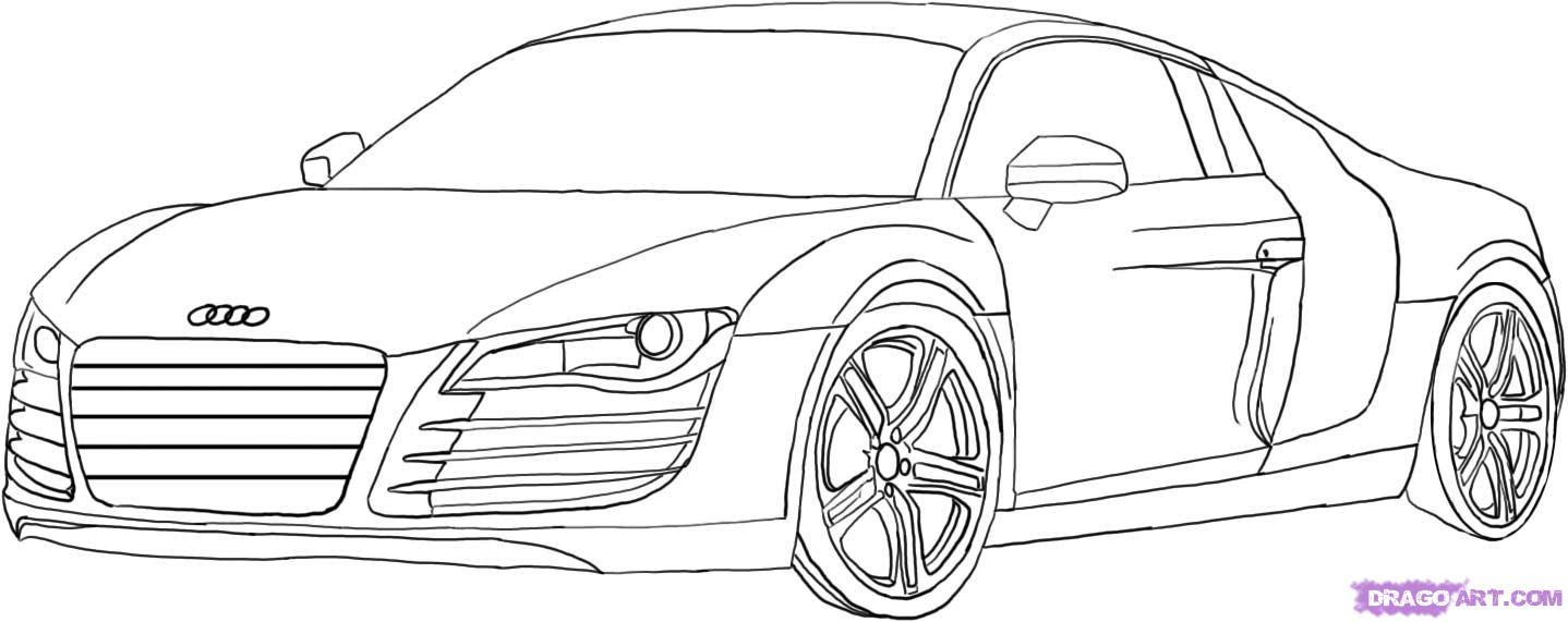 Coloriages à imprimer : Audi, numéro : 575829