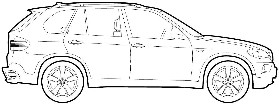 Coloriages à imprimer : BMW, numéro : 753653