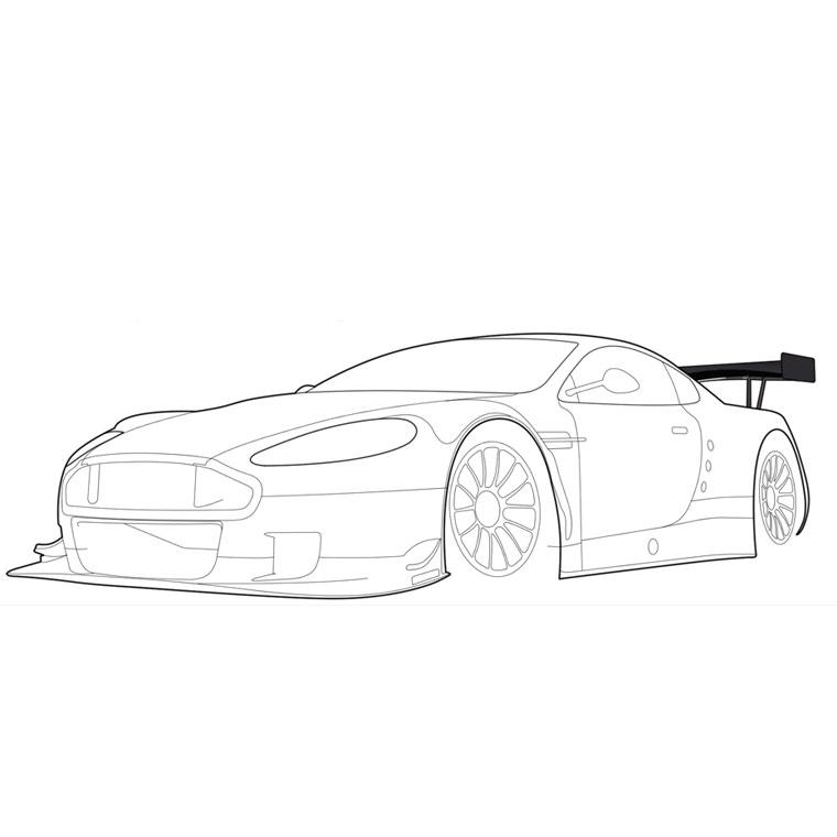 Coloriages à imprimer : Ferrari, numéro : 105759