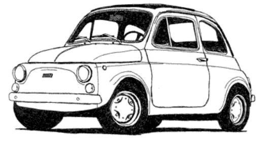 Coloriages à imprimer : Fiat, numéro : 61787