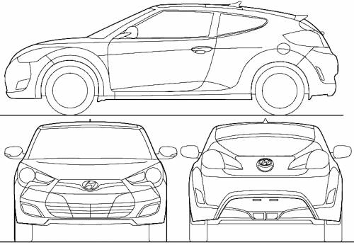 Coloriages à imprimer : Hyundai, numéro : 256365