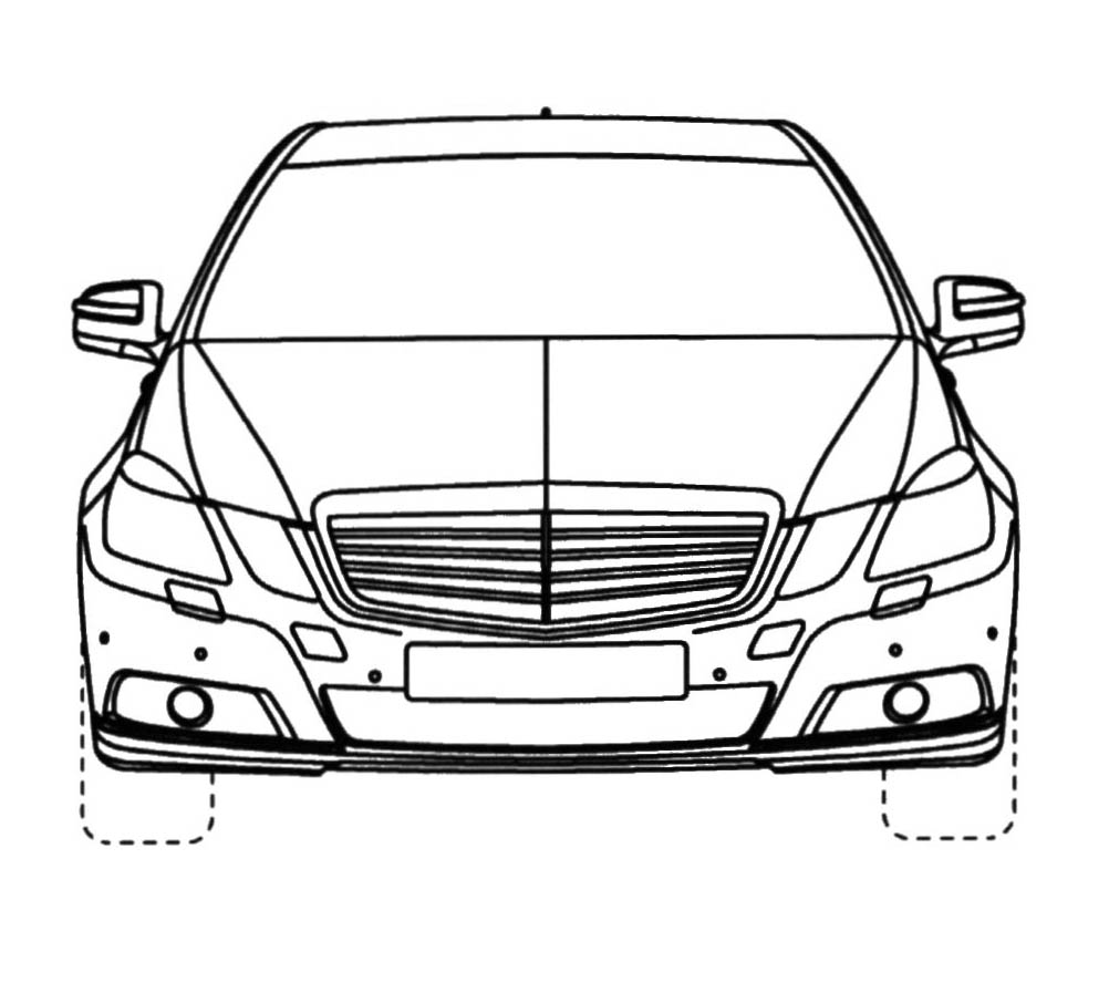 Coloriages à imprimer : Mercedes-Benz, numéro : 125988