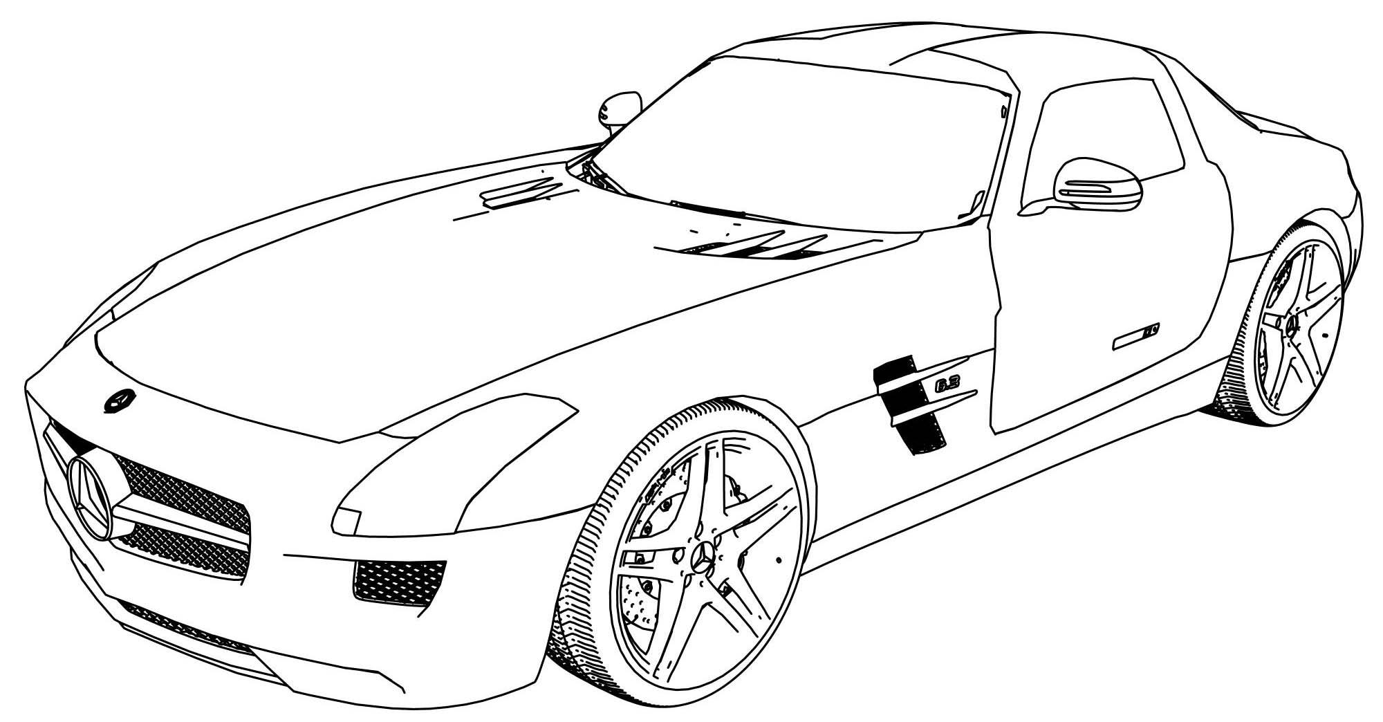 Coloriages à imprimer : Mercedes-Benz, numéro : 569f62c9