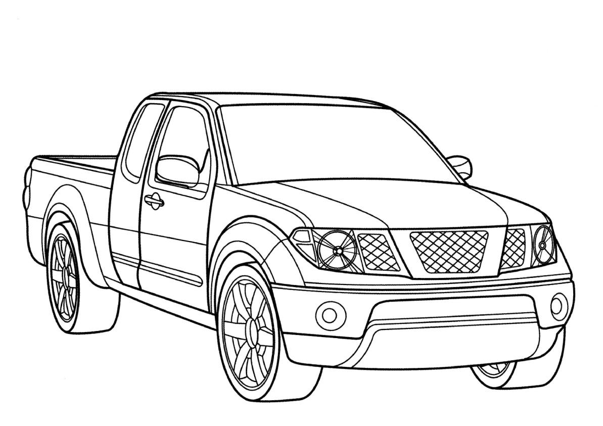 Coloriages à imprimer : Nissan, numéro : 105103