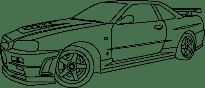 Coloriages à imprimer : Nissan, numéro : 758333