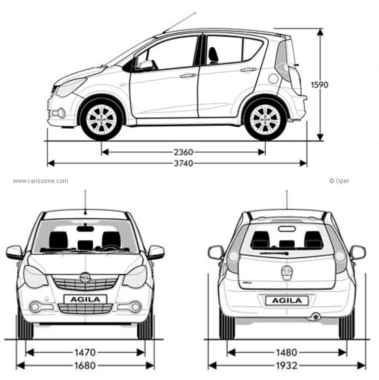 Coloriages à imprimer : Opel, numéro : 297341