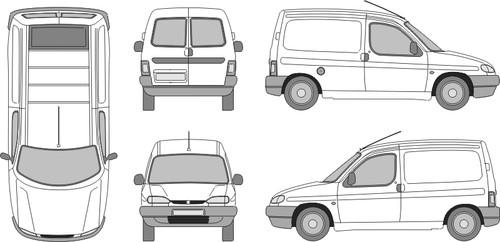 Coloriages à imprimer : Peugeot, numéro : 753558