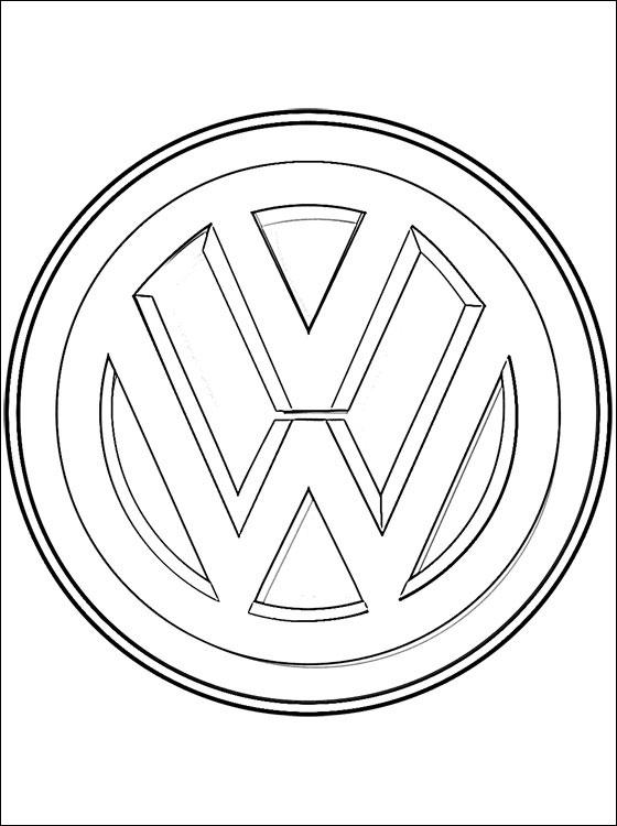 Coloriages à imprimer : Volkswagen, numéro : 452444