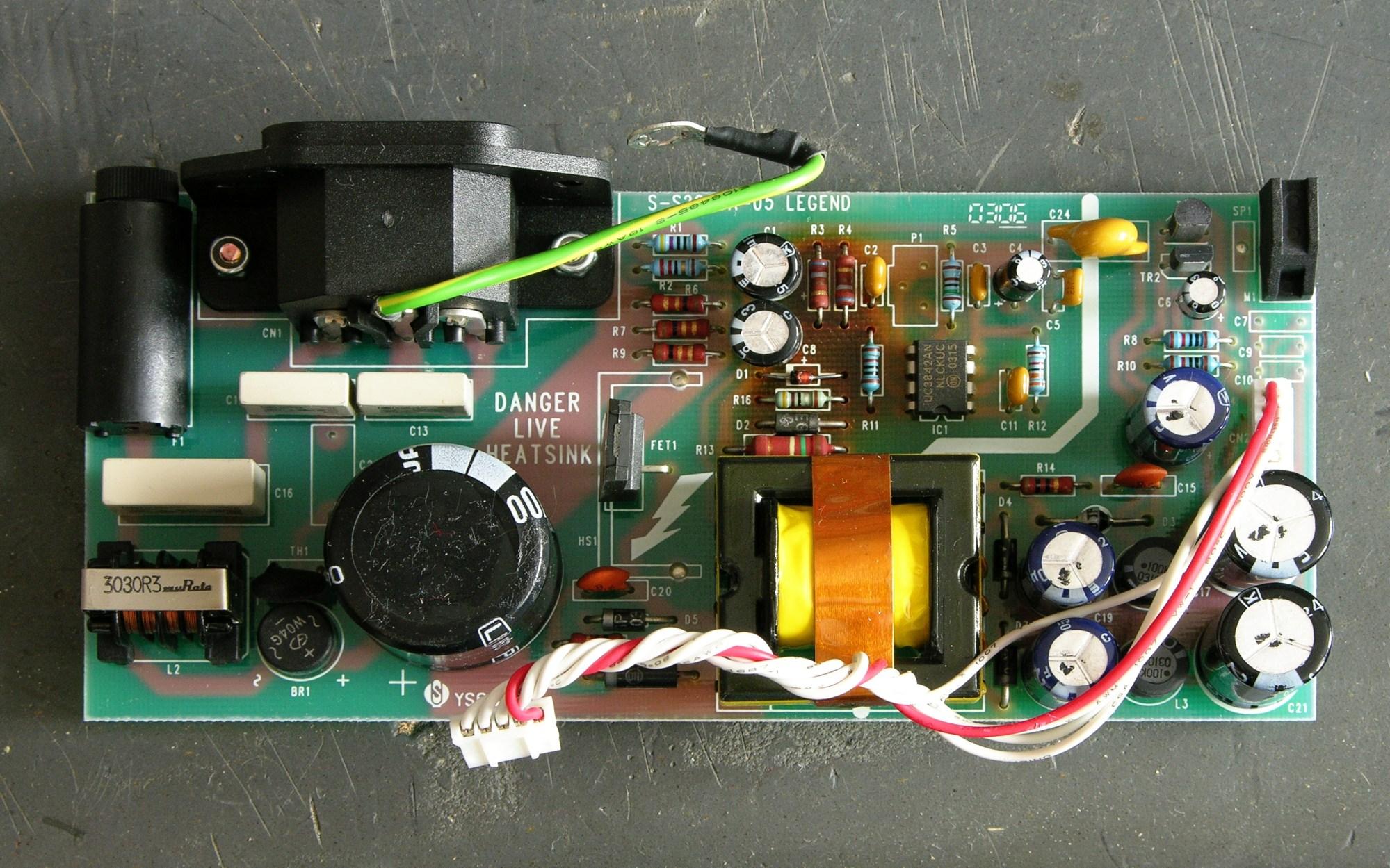 hight resolution of soundcraft spirit e6 mixer power supply board