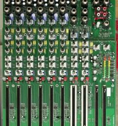 soundcraft spirit e6 mixer main pc board [ 1712 x 2240 Pixel ]