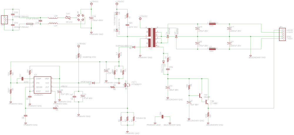 medium resolution of soundcraft spirit e6 mixer power supply schematic