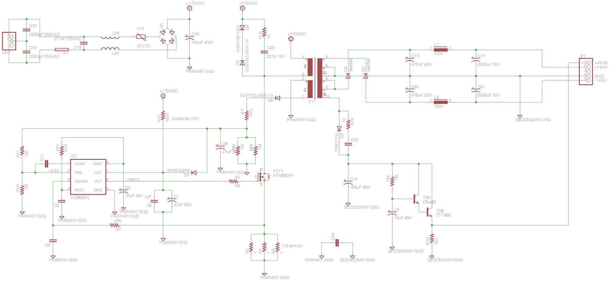 hight resolution of soundcraft spirit e6 mixer power supply schematic