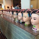 日本弱酸性美容協会のワインディングコンテスト