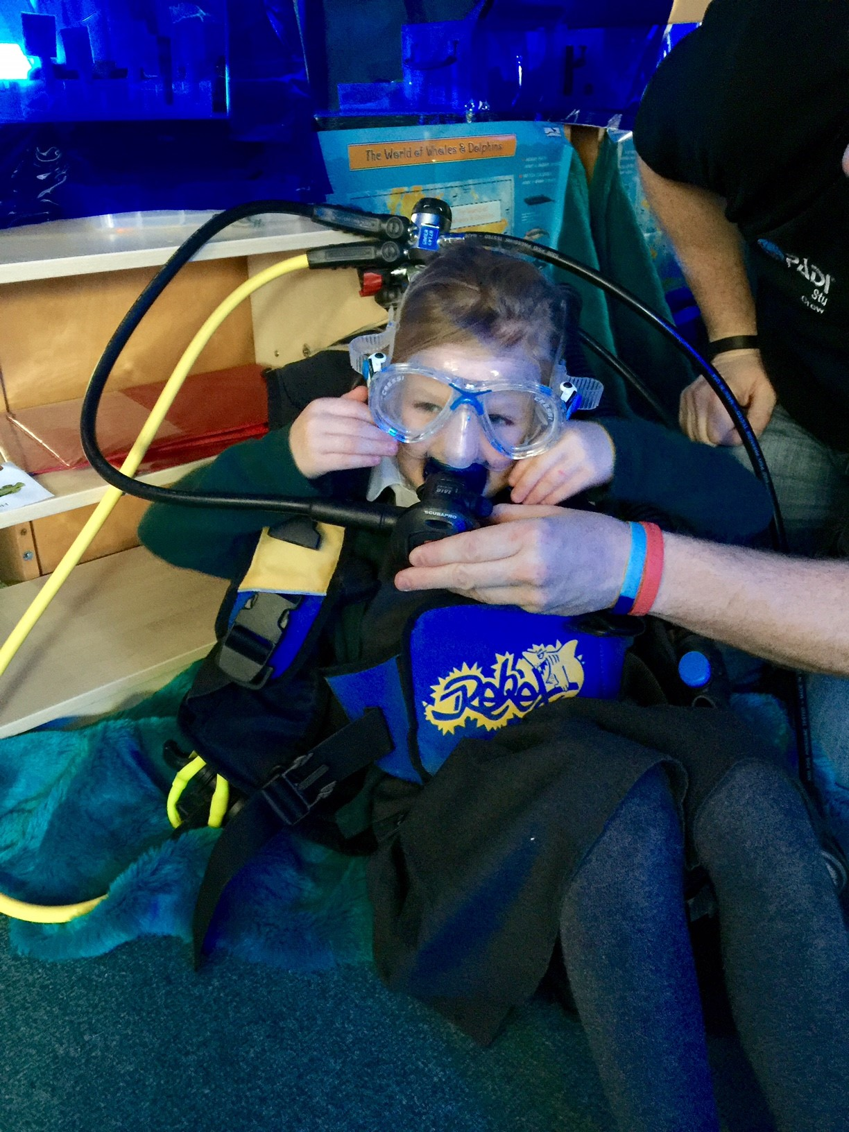 The Rewards Of Teaching Scuba Diving To Youth Groups