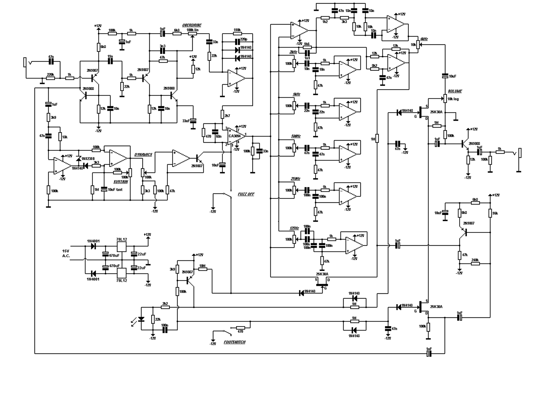 related with 2n2369 fuzz pedal schematic