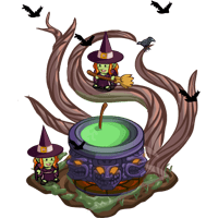 10930135 Buildable Witchin' Cauldron!