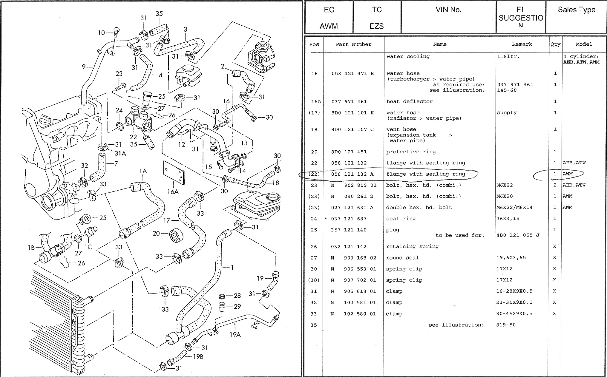 audi a4 exhaust system diagram 1994 ford mustang gt radio wiring 2004 taurus 3 engine free