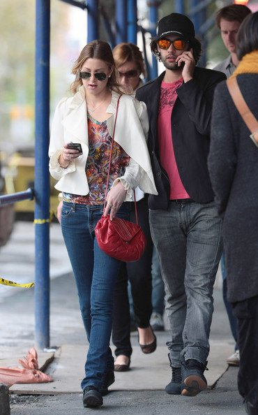 "Whitney Port Whitney ""Whit"" Port was seen on Monday in NYC walking with her boyfriend Jay Lyon along the Bowery in the uber-trendy NYC area of SOHO. For 10 blocks they pair were either SMS'ng or speaking on the phone.  Busy!!!"