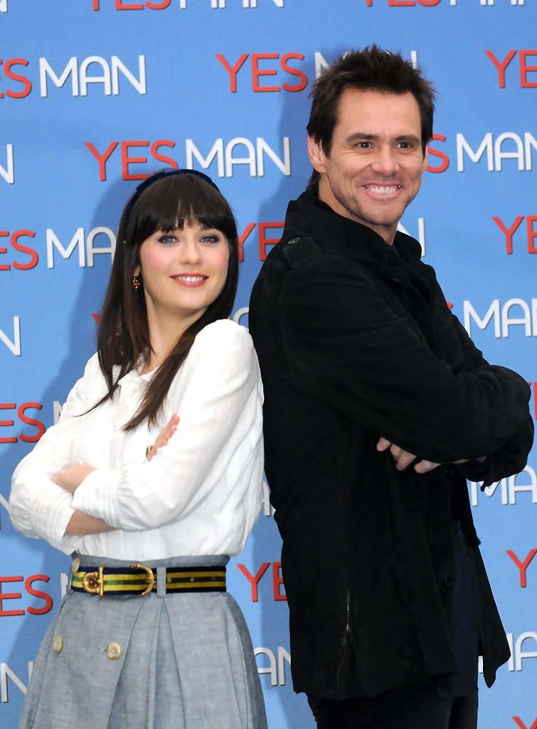 Image result for jim carrey and zooey deschanel