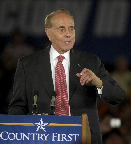 Bob Dole - Sarah Palin Campaigns In Raleigh Three Days Before Election