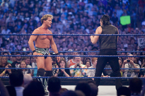 Image result for wrestlemania 25 chris jericho vs micky