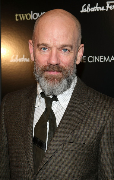 """Musician Michael Stipe attends the Cinema Society and Salvatore Ferragamo screening of """"Two Lovers"""" at the Landmark Sunshine Cinema on February 11, 2009 in New York City.  (Photo by Michael Loccisano/Getty Images) *** Local Caption *** Michael Stipe"""