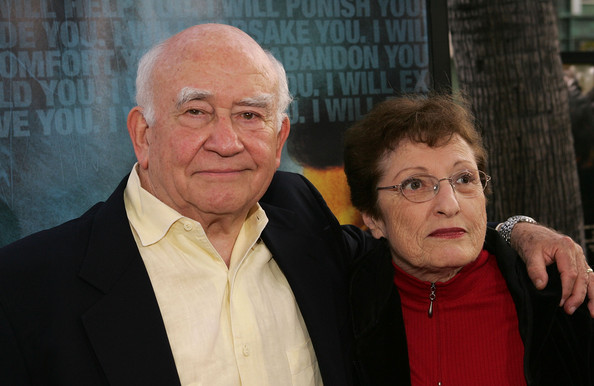Ed Asner and Cindy Gilmore Photos Photos Premiere Of