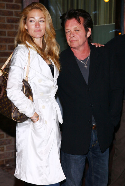 "(L-R) Elaine Irwin Mellencamp and John Mellencamp attend the New York screening of Kate Hudson's Glamour Reel Moments short film ""Cutlass"" hosted by Glamour at the Drawing Room in the Greenwich Hotel on May 3, 2009 in New York City.  (Photo by Astrid Stawiarz/Getty Images) *** Local Caption *** Elaine Irwin Mellencamp;John Mellencamp"