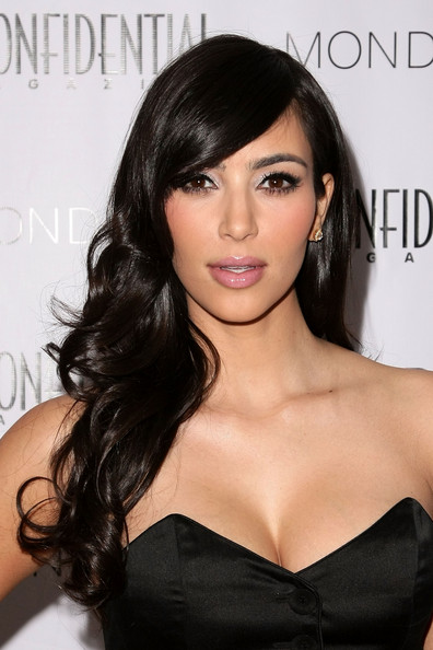 Kim Kardashian's hair looks beautiful no matter how she wears it,