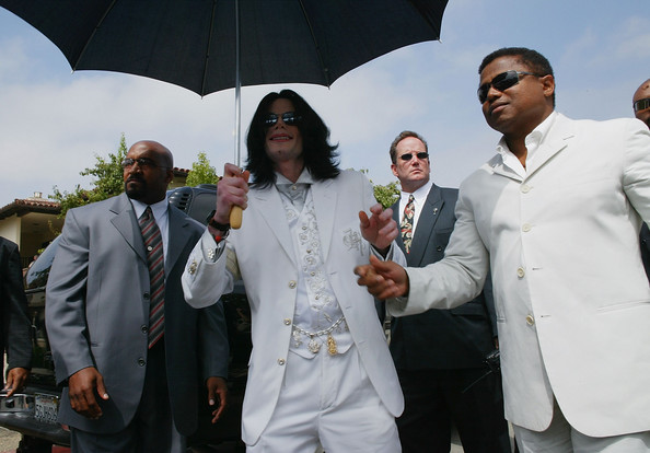 Tito Jackson Michael Jackson, (L) and brother Tito Jackson leave the Santa Maria courthouse on September 17, 2004 in Santa Maria, California.